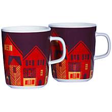 Buy Marimekko Vanhakaupunki Mug Set Online at johnlewis.com