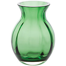 Buy Dartington Little Gems Oval Lantern Vase, Green Online at johnlewis.com