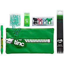 Buy Tinc Giant Zip Pencil Case Gift Set Online at johnlewis.com