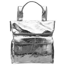 Buy Whistles Verity Large Rucksack, Silver Online at johnlewis.com
