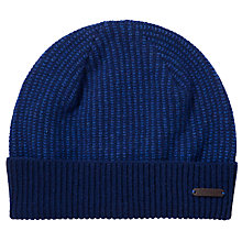 Buy Ted Baker Kersey Stitch Beanie, One Size, Blue Online at johnlewis.com