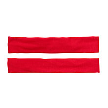 Buy John Lewis Girl Jersey Headband, Pack of 2, Red Online at johnlewis.com