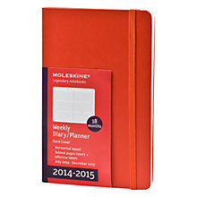 Buy Moleskine 18 Month Weekly Diary, 2014-15 Online at johnlewis.com