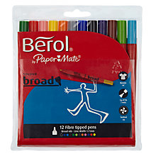 Buy Berol Handwriting Pen, Pack of 12, Multi Online at johnlewis.com