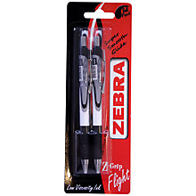 Buy Zebra Zgrip Flight Pen, Pack of 2 Online at johnlewis.com