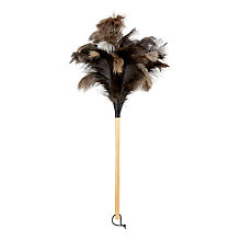 Buy John Lewis Brooklyn Wood and Feather Duster Online at johnlewis.com
