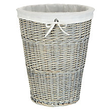 Buy John Lewis Willow Laundry Basket Online at johnlewis.com