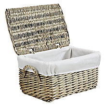 Buy John Lewis New England Lined Small Storage Hampers, Set of 2 Online at johnlewis.com