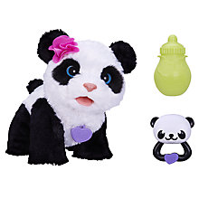 Buy FurReal Friends, Pom Pom, My Baby Panda Pet Online at johnlewis.com