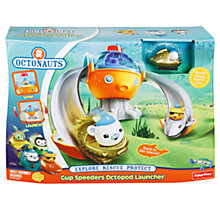 Buy Octonauts Gup Speeders Octopod Launcher Online at johnlewis.com