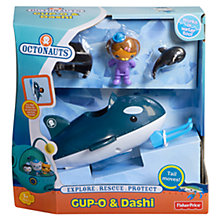 Buy Octonauts GUP-O and Dashi Water Play Set Online at johnlewis.com