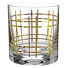 Buy John Lewis Havana Tumbler, Gold Online at johnlewis.com