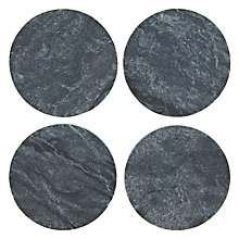 Buy Sparq Coasters with Holder, Set of 4 Online at johnlewis.com