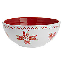 Buy Sagaform Christmas Candle Holder, Red Online at johnlewis.com