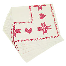Buy Sagaform Disposable Party Napkins Online at johnlewis.com