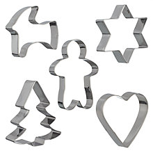 Buy Sagaform Christmas Cookie Cutters Online at johnlewis.com
