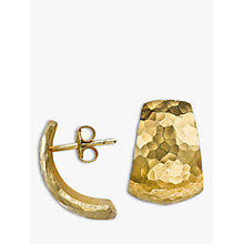 Buy Dower & Hall Chunky Half Hoop Earrings Online at johnlewis.com