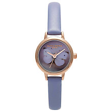 Buy Olivia Burton OB13WC20 Women's Wonderland Mini Butterfly Bracelet Strap Watch, Gold Online at johnlewis.com