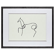 Buy Pablo Picasso - Le Cheval, Framed Print, 40 x 50cm Online at johnlewis.com