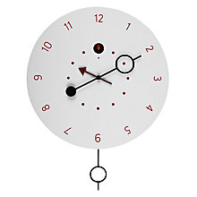 Buy Diamantini & Domeniconi Cipasso Cuckoo Clock, White, Dia.45cm Online at johnlewis.com