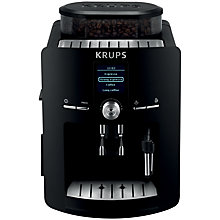 Buy KRUPS EA825840 Espresseria Bean-to-Cup Coffee Machine, Black Online at johnlewis.com