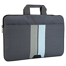 "Buy Targus Geo Victoria Sleeve for Laptops up to 15.6"", Grey Online at johnlewis.com"