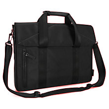 "Buy Targus T-1211 Slim Topload Case for Laptops up to 15.6"", Black Online at johnlewis.com"