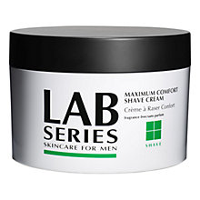 Buy Lab Series Shave Maximum Comfort Shave Cream, 227g Online at johnlewis.com