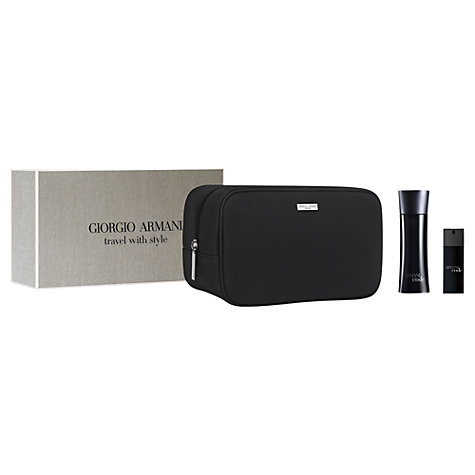 Buy Giorgio Armani Armani Code Travel With Style Gift Set Online at johnlewis.com