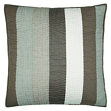 Buy John Lewis Wide Stripe Sham Cushion Online at johnlewis.com