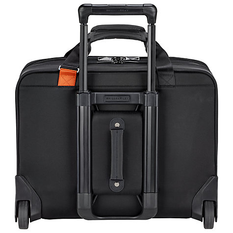 Buy Briggs & Riley Verb Navigate 2-Wheel Mobile Office, Black Online at johnlewis.com
