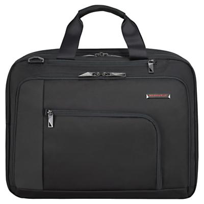 Briggs & Riley Verb Adapt 15.6 Laptop Briefcase Black