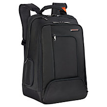 "Buy Briggs & Riley Verb Accelerate 17"" Laptop Backpack, Black Online at johnlewis.com"