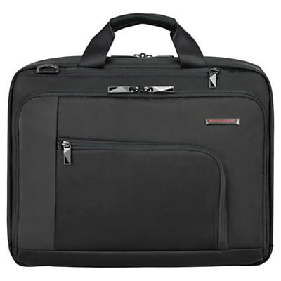 Briggs & Riley Verb Connect 15.6 Laptop Briefcase Black
