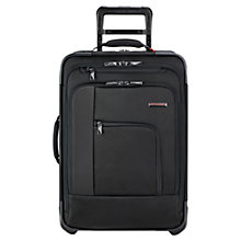 Buy Briggs & Riley Verb Pilot Carry On 2-Wheel Suitcase, Black Online at johnlewis.com