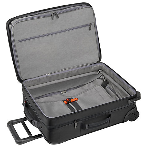 Buy Briggs & Riley Verb Pilot 2-Wheel 54.6cm Cabin Suitcase, Black Online at johnlewis.com