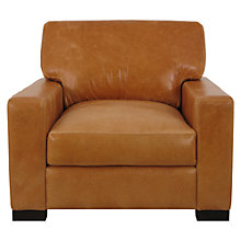 Buy John Lewis Bari Leather Armchair, Splendour Brittany Online at johnlewis.com