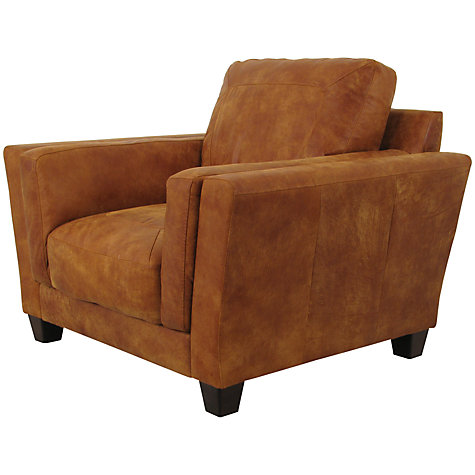 Buy John Lewis Marino Leather Armchair, Outback Ranch Online at johnlewis.com