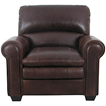 Buy John Lewis Castello Leather Armchair, Splendour Chestnut Online at johnlewis.com