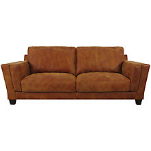 Buy John Lewis Marino Grand Leather Sofa, Outback Ranch Online at johnlewis.com