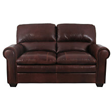Buy John Lewis Castello Large Leather Sofa, Splendour Chestnut Online at johnlewis.com