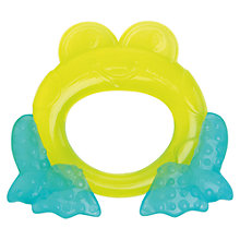 Buy Bright Starts Second Stage Teether, Green Online at johnlewis.com
