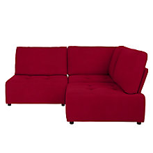 Buy House by John Lewis Flex Small Corner Sofa, Fraser Red Online at johnlewis.com