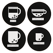 Buy John Lewis Coffee Coasters, Set of 4 Online at johnlewis.com