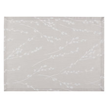 Buy John Lewis Catkin Placemats, Grey, Set of 2 Online at johnlewis.com