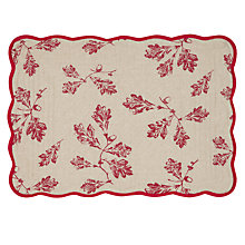 Buy John Lewis Acorn Quilted Placemat Online at johnlewis.com