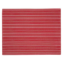 Buy John Lewis Star Placemats, Set of 2, Red Online at johnlewis.com