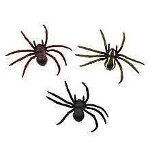 Buy John Lewis Plastic Spiders Online at johnlewis.com