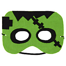Buy John Lewis Felt Frankenstein's Monster Mask Online at johnlewis.com