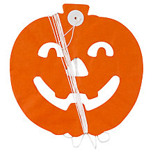 Buy Neviti Halloween Tissue Paper Pumpkin Garland, Orange Online at johnlewis.com